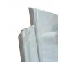 PAROI LATERALE DROITE 632X1866MM PLASTIQUE BLANC
